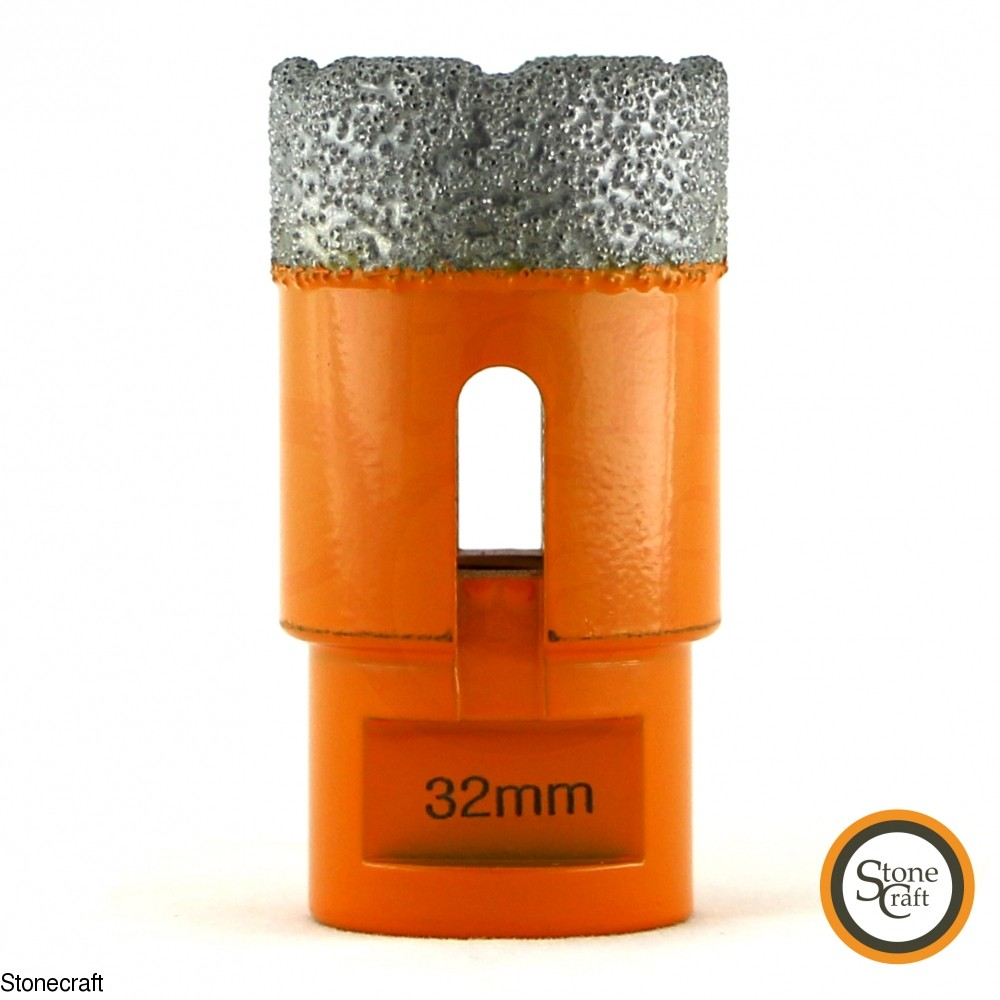 Алмазная коронка d 32 mm х М14 вакуумного спекания 2