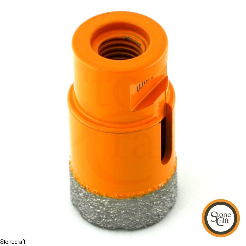 Алмазная коронка d 32 mm х М14 вакуумного спекания 0