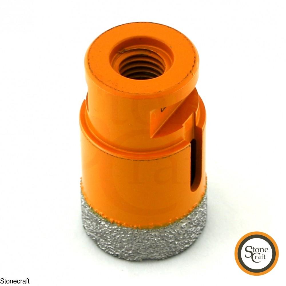 Алмазная коронка d 35 mm х М14 вакуумного спекания. 2