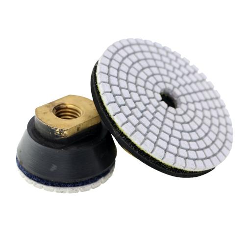 №200, d100 mm. кл А, Универсальный алмазный шлифовальный круг  3