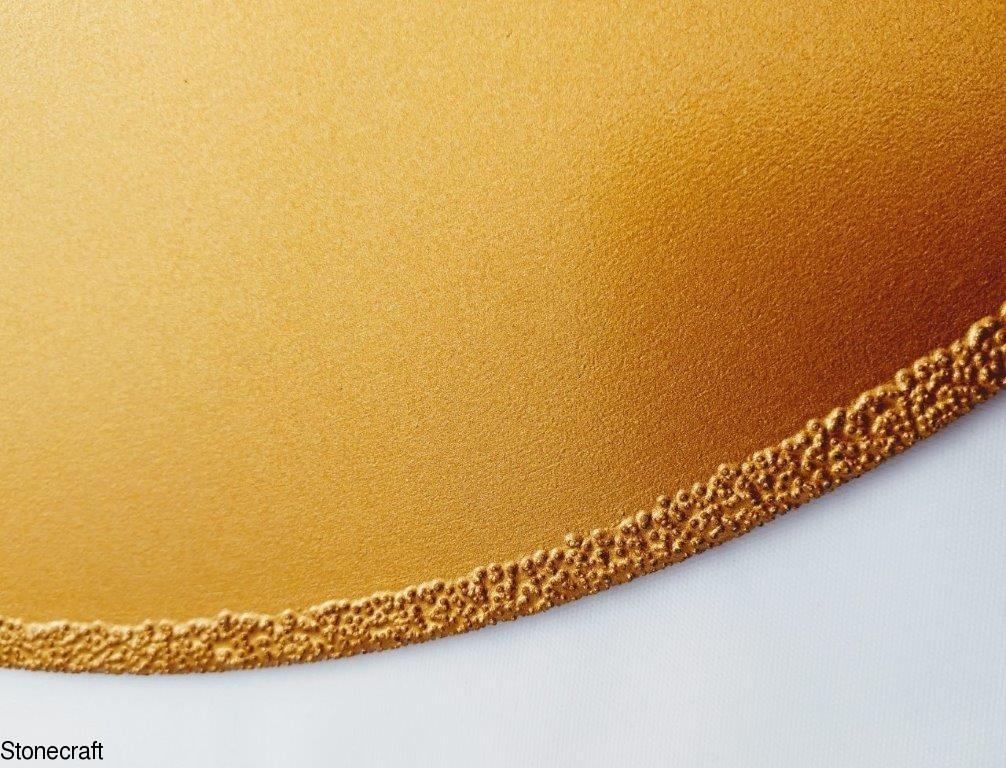 Пила алмазная d 350*60  mm вакуумного напыления для мрамора. 0