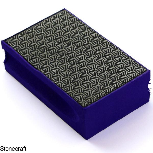 Набор алмазных терок для ручной шлифовки мрамора, стекла, керамики 5