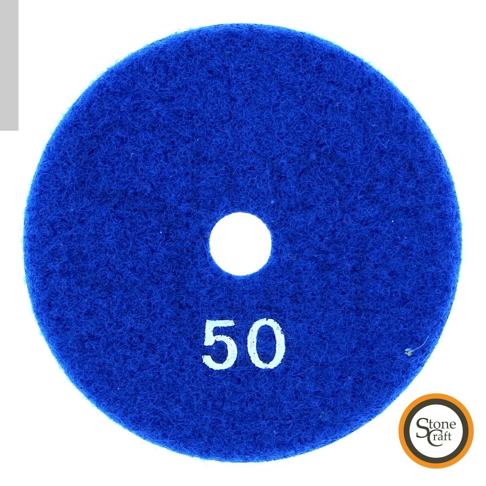 Алмазный металлизированный круг d 100 mm x 5.5 mm, № 50 3