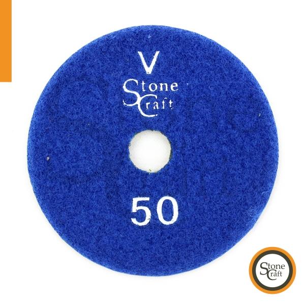 Металізований алмазний шліфкруг  V № 50 d 100мм ST1 0