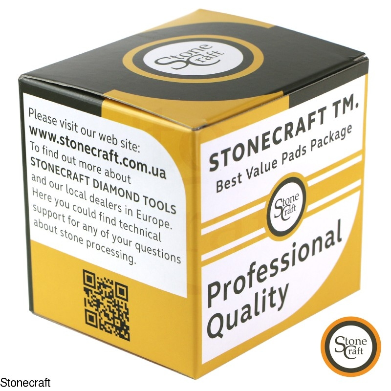 Stonecraft TM professional grade Diamond Polishing Pads 4