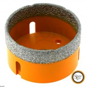 Алмазная коронка d 70 mm х М14 вакуумного спекания.