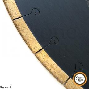 Пила d 350 х 60 х 3,2 х 10 mm для мрамора