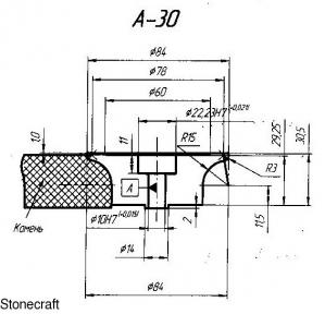 Профильный ролик тип А 30