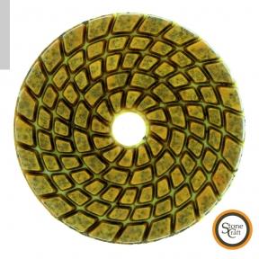 Алмазный металлизированный круг d 100 mm x 5.5 mm. Номер 400