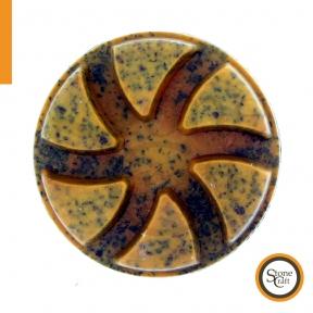 Алмазний металлизированный круг d 80 mm x 10 mm. Номер 50