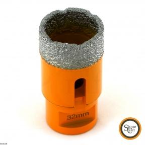 Алмазная коронка d 32 mm х М14 вакуумного спекания